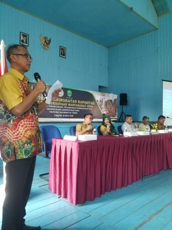 Pelatihan peningkatan  kapasitas kader pemberdayaan masyarakat desa