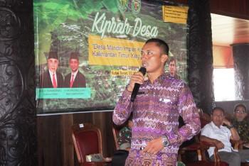 Kepala Kampung Sumber Sari sebagai kampung terbaik Kubar