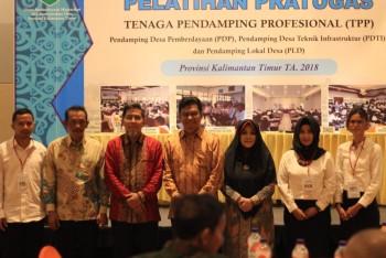 Pembukaan Pelatihan Pratugas TPP 2018